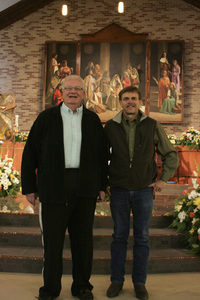 Father Faucher and Tom